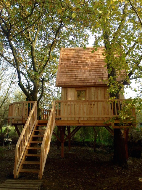 Treehouse for the weekend