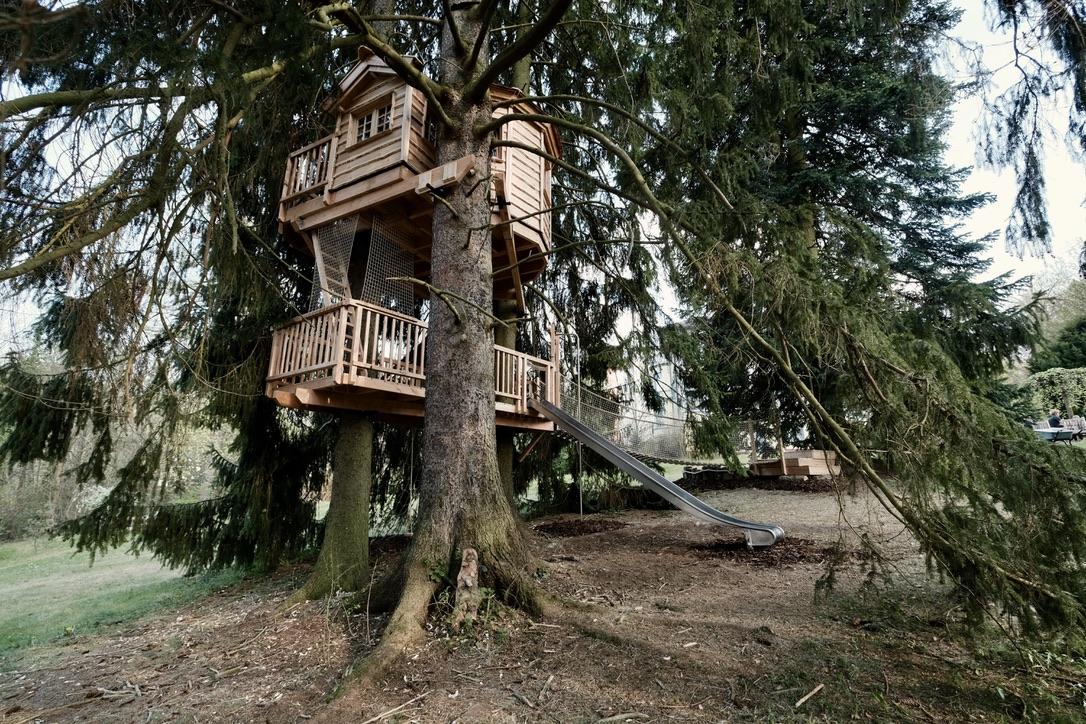 Three generations. One treehouse.