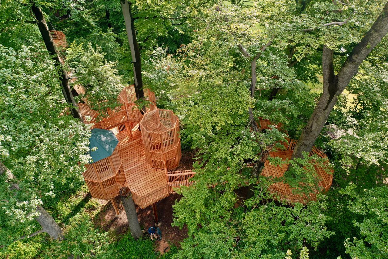 Baumschloss in Moyland